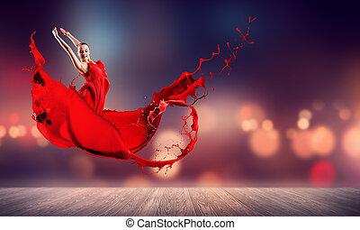χορεύω , πάθοs