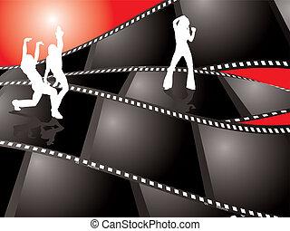 χορεύω , ταινία , φόντο