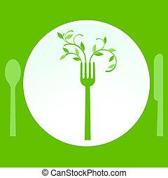 χορτοφάγοs , γεύμα