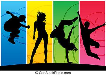 χορός , άνθρωποι