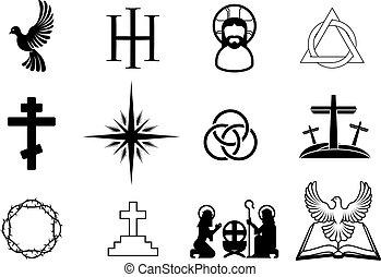 χριστιανόs , απεικόνιση