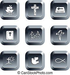 χριστιανόs , κουμπιά