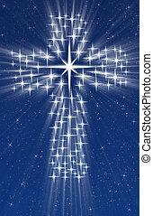 χριστιανόs , σταυρός , αστέρας του κινηματογράφου