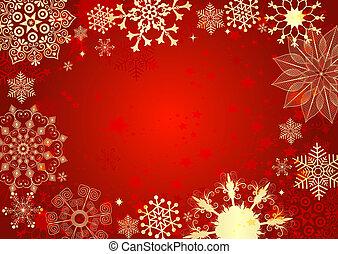 χριστουγεννιάτικη κάρτα , κόκκινο