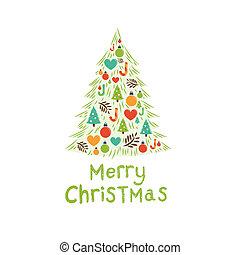χριστουγεννιάτικο δέντρο , μικροβιοφορέας
