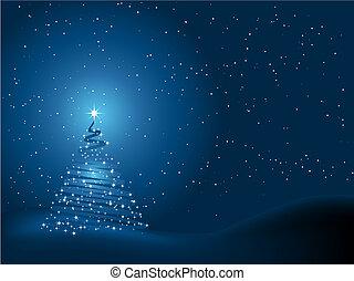 χριστουγεννιάτικο δέντρο , φόντο