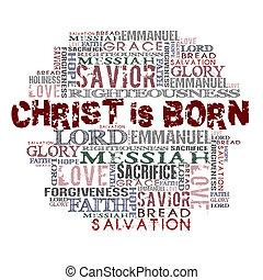 χριστός , γεννημένος