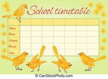 χρονοδιάγραμμα , ιζβογις , κίτρινο , πουλί