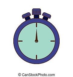 χρονόμετρο , ανακόπτω , απομονωμένος , εικόνα