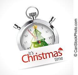 χρονόμετρο , - , διακοπές χριστουγέννων εποχή