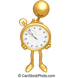 χρονόμετρο , κράτημα