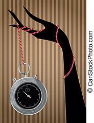 χρονόμετρο , χέρι