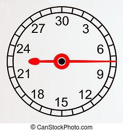 χρονόμετρο , face., αγαθός φόντο