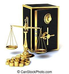 χρυσαφένιος , ακίνδυνος , κέρματα , αναλογία