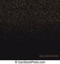 χρυσαφένιος , βροχή , φόντο