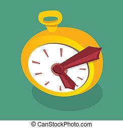 χρυσαφένιος , γελοιογραφία , ρολόι