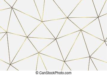 χρυσαφένιος , γεωμετρικός , φόντο