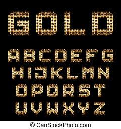 χρυσαφένιος , κολυμβύθρα , γράμματα , εικονοκύτταρο , αλφάβητο