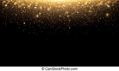 χρυσαφένιος , μαγεία , χρυσός , εορταστικός , αφαιρώ , glare., lights., φόντο. , μικροβιοφορέας , rain., σκόνη , αλίσκομαι , xριστούγεννα