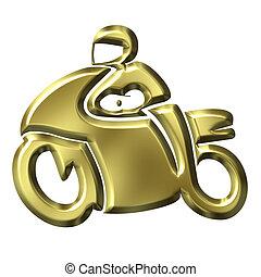 χρυσαφένιος , μοτοποδήλατο