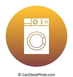 χρυσαφένιος , πλύση , κλίση , αναχωρώ. , μηχανή , αγαθός αέναη ή περιοδική επανάληψη , εικόνα