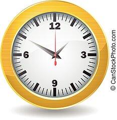 χρυσαφένιος , ρολόι