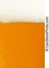χρυσαφένιος , σιτάρι , μπύρα , closeup , άσπρο , κορυφή
