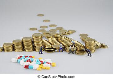χρυσός , άνθρωποι , μινιατούρα , αμαυρώ , φάρμακο , επινοώ , θημωνιά