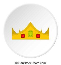 χρυσός , βασιλικός αγκώνας αγκύρας , εικόνα , κύκλοs