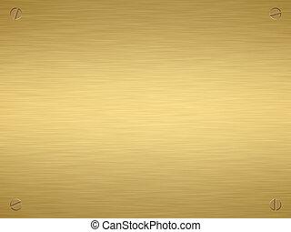 χρυσός , τιμητική πλαξ