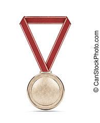 χρυσό μετάλλιο , με , αριστερός κορδέλα