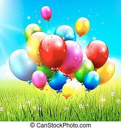 χρωματιστόσ μπαλόνι