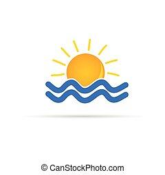 χρώμα , ήλιοs , μικροβιοφορέας , θάλασσα , εικόνα