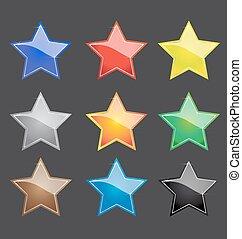 χρώμα , ακτινοβολία , κουμπί , μικροβιοφορέας , αστέρι