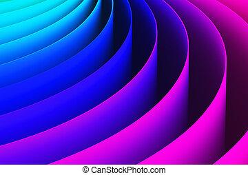 χρώμα , αφαιρώ , καμπύλη , σχήμα , φόντο , 3d