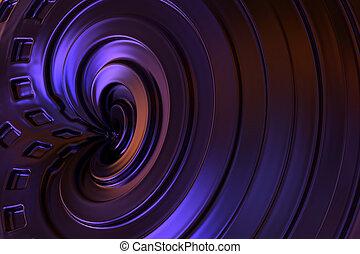 χρώμα , αφαιρώ , rendering., φόντο. , βιολέττα , 3d