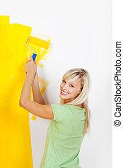 χρώμα , γυναίκα , αγαπώ , κίτρινο