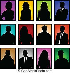 χρώμα , εικόνες , frames-business, άνθρωποι