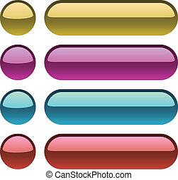 χρώμα , ιστός , κουμπιά , design., μεταλλικός