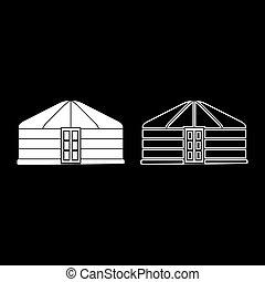 χρώμα , μικροβιοφορέας , νομάδα , εικόνα , εικόνα , επίστρωση , μογγολικός , θέτω , yurt, τέντα , άσπρο , πόρτα , ρυθμός , εικόνα , κορνίζα , φορητός , περίγραμμα , διαμέρισμα , κατοικία , κτίριο