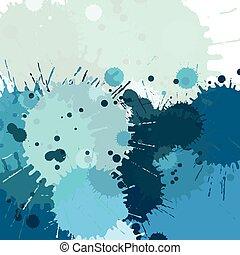 χρώμα , νερομπογιά , αφαιρώ , βουτιά , μικροβιοφορέας