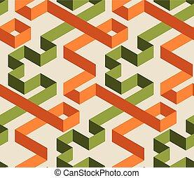 χρώμα , πρότυπο , seamless, λαβύρινθος , γεωμετρικός , 3d