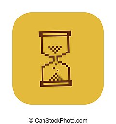 χρώμα , τετράγωνο , κλεψύδρα , εικόνα