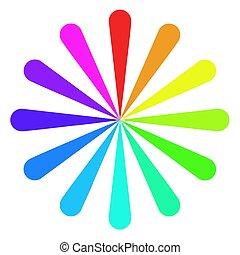 χρώμα , τροχός , ανεμιστήραs