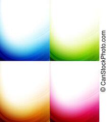 χρώμα , φόντο , κύμα