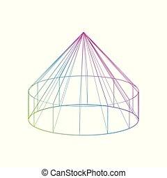 χρώμα , yurt, αγαθός φόντο , εικόνα