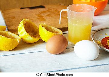 χυμόs , διαμορφώνω , λεμόνι