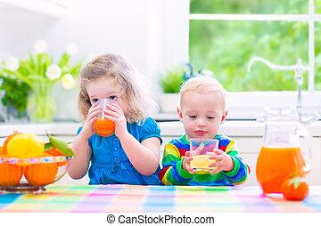 χυμόs πορτοκαλιού , πόσιμο , μικρόκοσμος