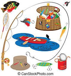 ψάρεμα , απεικόνιση