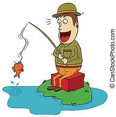 ψαράs , κακοτυχία